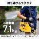 軽量 半自動溶接機(インバーター)小型 100V 50Hz/60Hz 定格使用率60%/HG-MAGMMA-100A【1年保証】