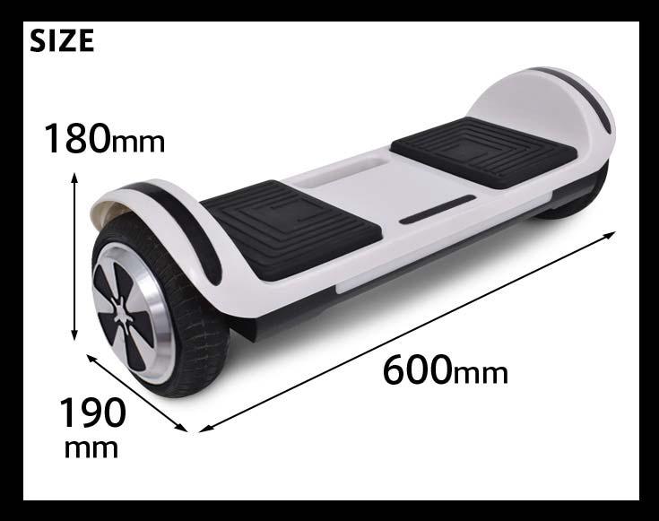 ローラーボード(バランススクーター 電動スクーター 電動スマートスクーター 立ち乗りスクーター) PSEマーク取得済み FCA135-420007【1年保証】