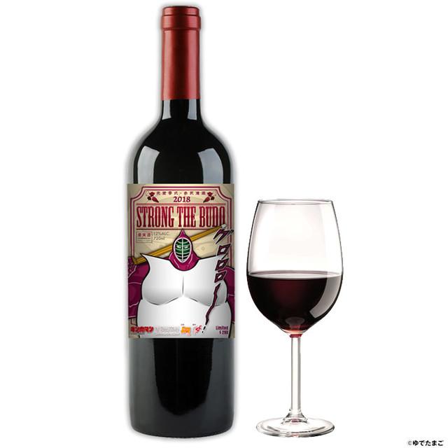 【お酒】キン肉マン/葡萄酒「ストロング・ザ・武道」(赤ワイン)