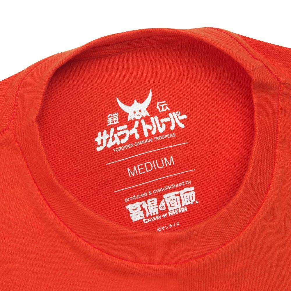 鎧伝サムライトルーパー/金剛のシュウTシャツ/オレンジ