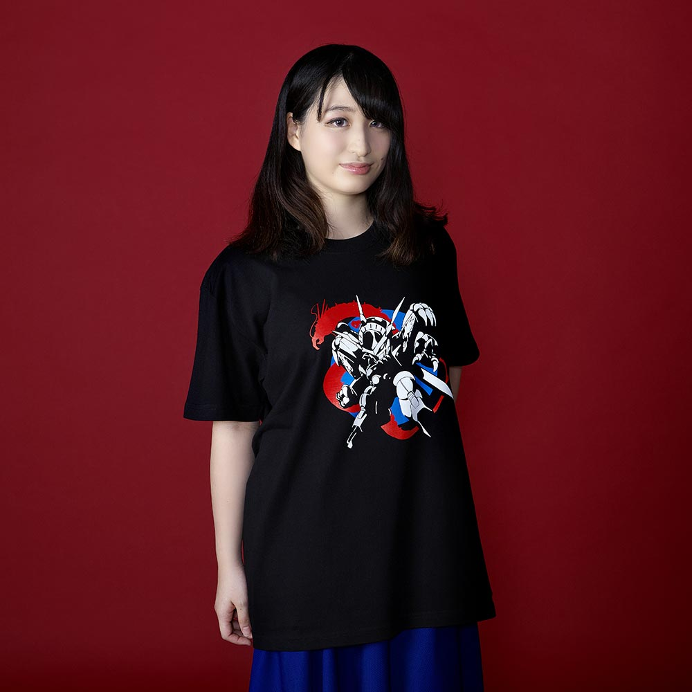 魔神英雄伝ワタル/龍神丸Tシャツ(龍神丸イラスト)ブラック