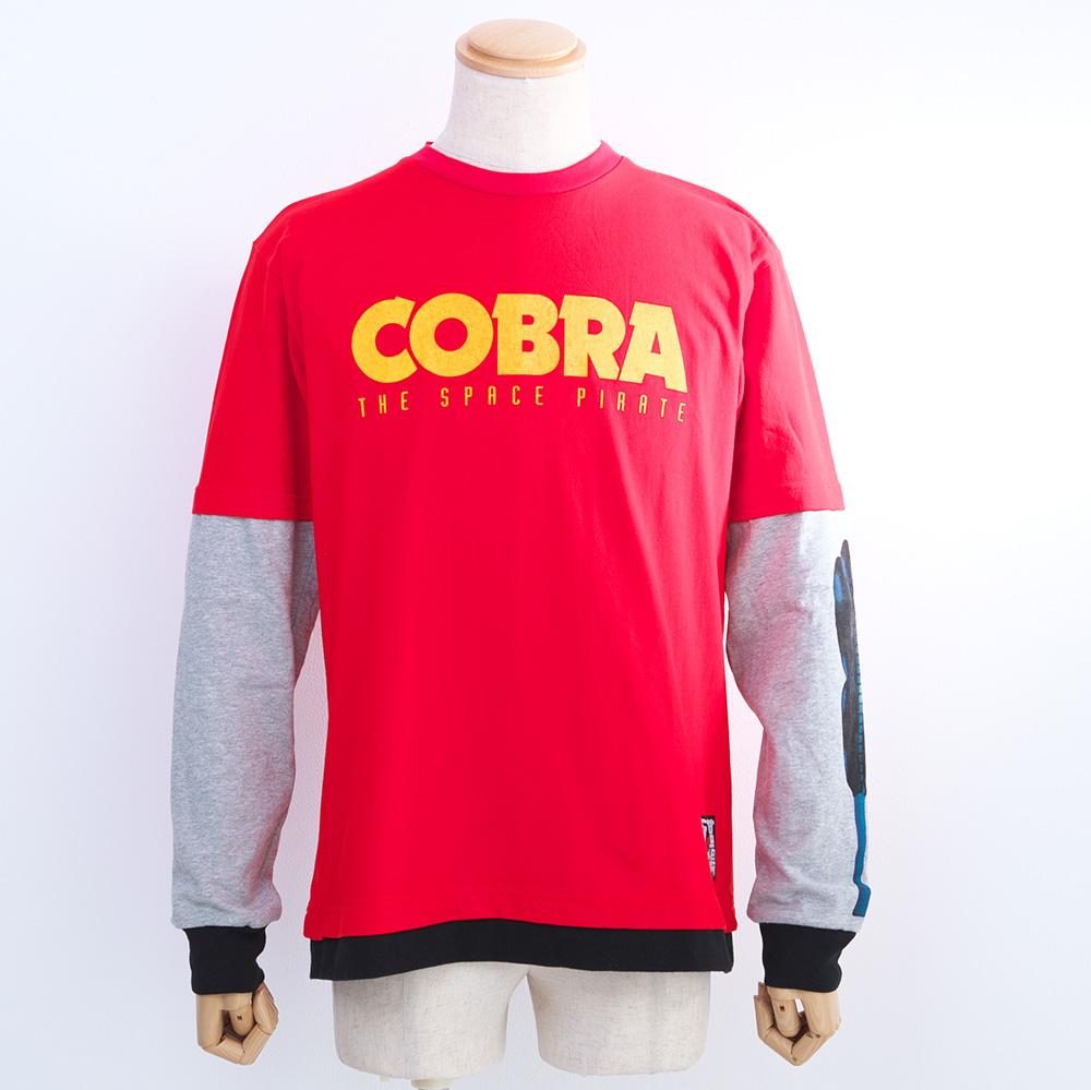 コブラ/コブラフェイクレイヤードロングスリーブTシャツ(長袖Tシャツ)