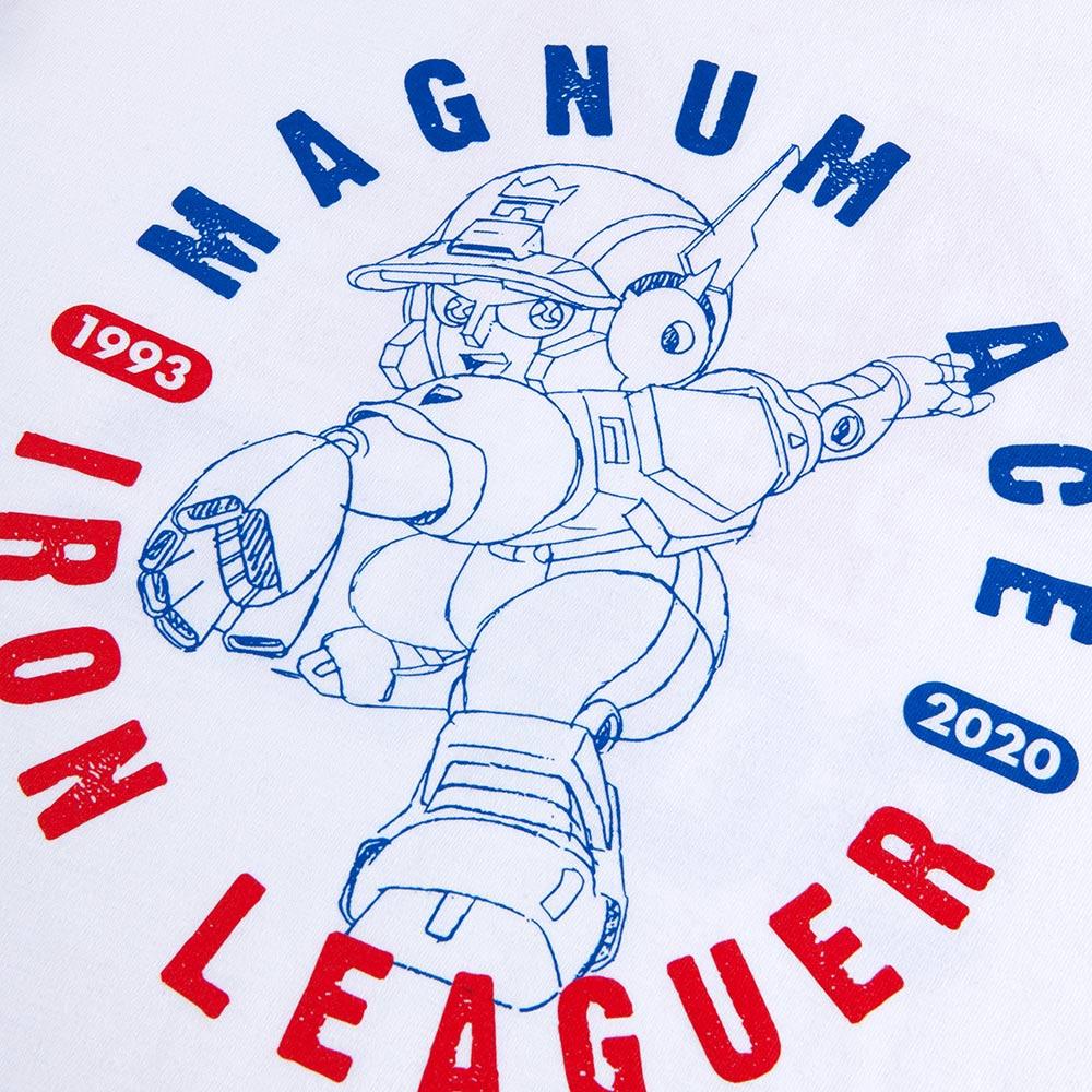 疾風!アイアンリーガー/マグナムエースラグランTシャツ(マグナムエース 44ソニック 44SONIC)