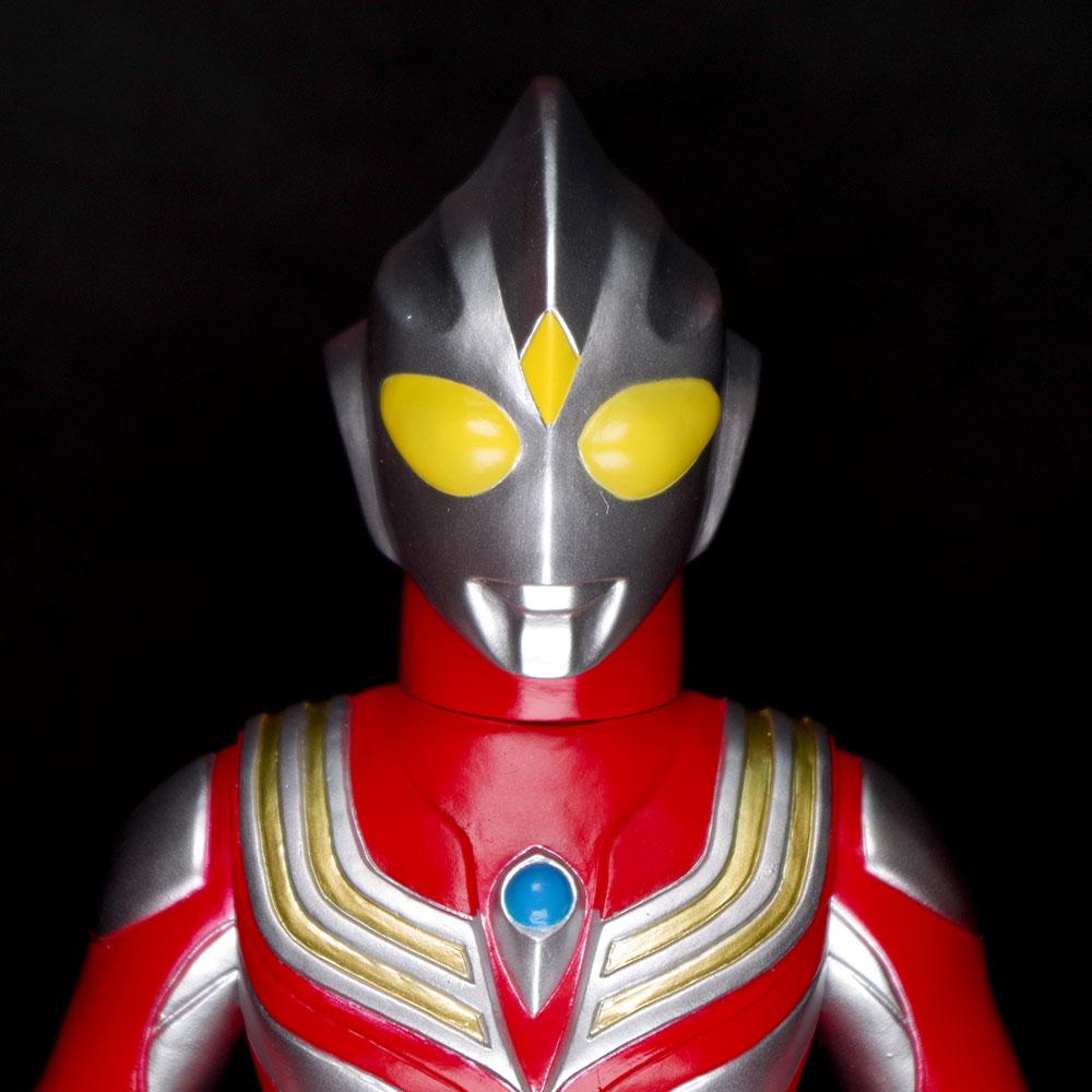 【ソフビ】【ブルマァク】ウルトラマンティガ(パワータイプ・赤)/BULLMARK ブルマアク