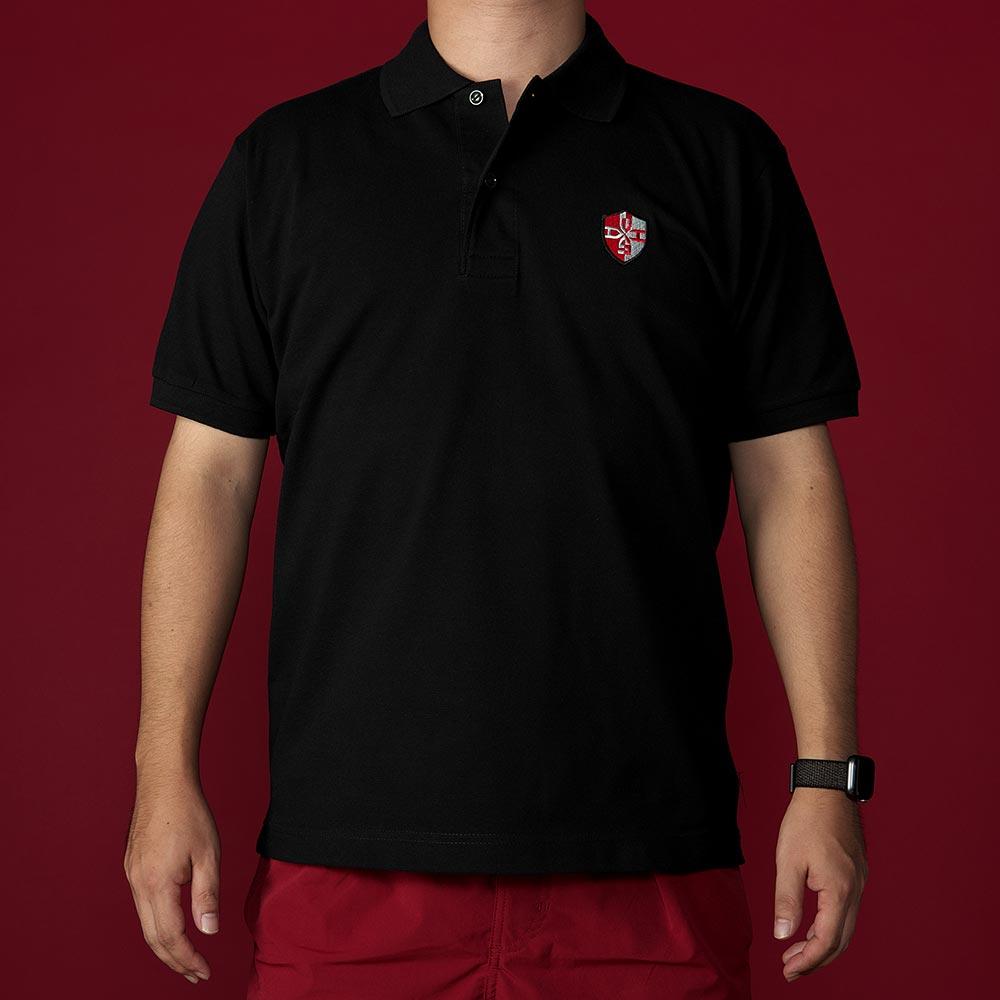 ウルトラマンマックス/ポロシャツ(DASH)/ブラック