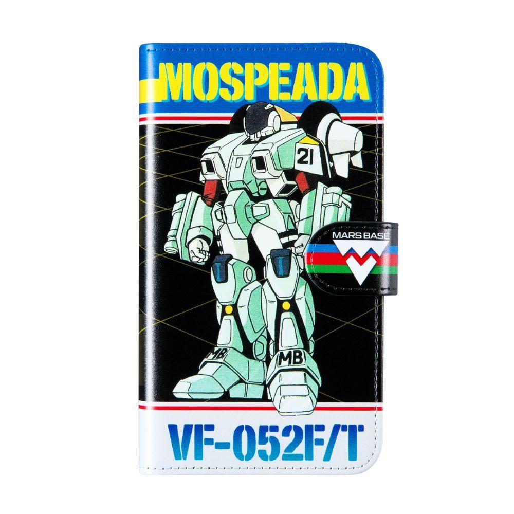 機甲創世記モスピーダ/手帳型スマホケース/iPhone,Android対応