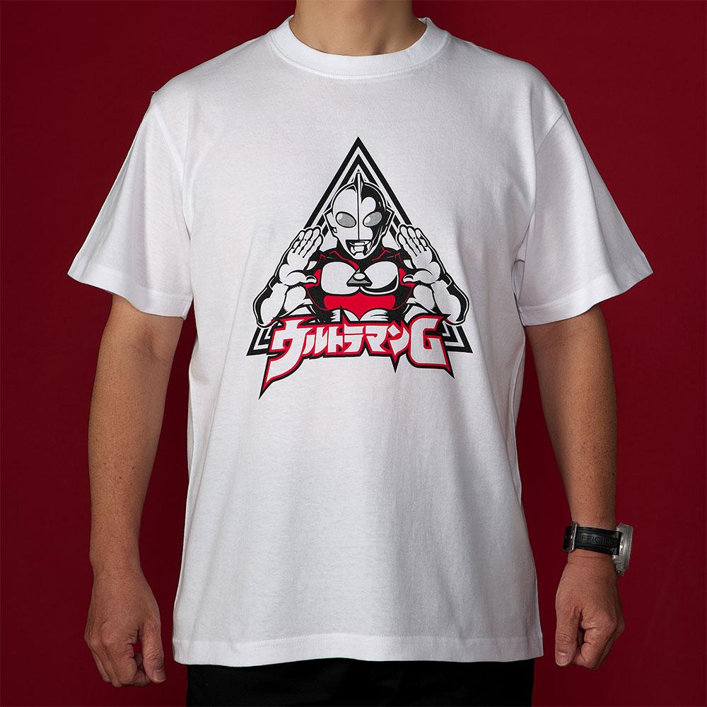 ウルトラマングレート/グレートTシャツ(ウルトラマングレート)ホワイト/世界で活躍するULTRAMAN POPUPコーナー