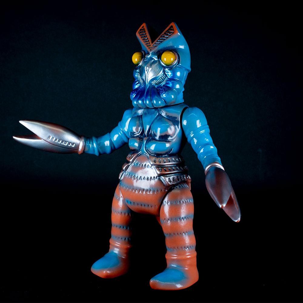 【ソフビ】【ブルマァク】ブルマァク バルタン星人(マックス15周年記念カラー)/BULLMARK ブルマアク