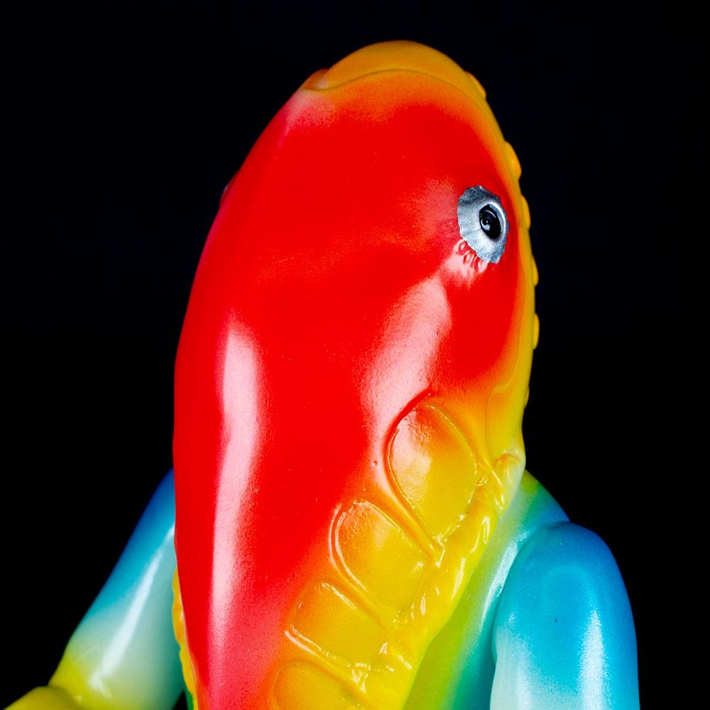 【ソフビ】【ブルマァク】ブルマァク メトロン星人(マックス15周年記念カラー)/BULLMARK ブルマアク