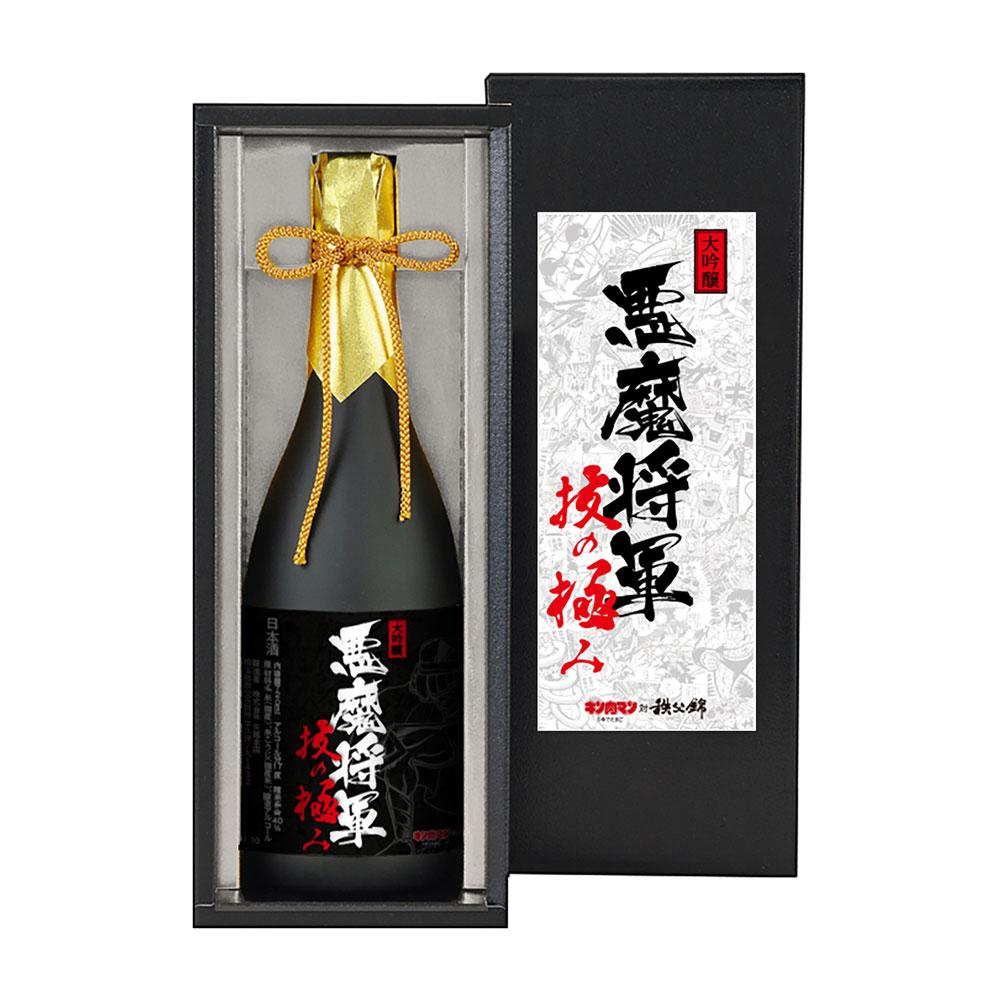 【いまなら特製のしプレゼント】【お酒】キン肉マン/大吟醸 悪魔将軍 技の極み(升セット)