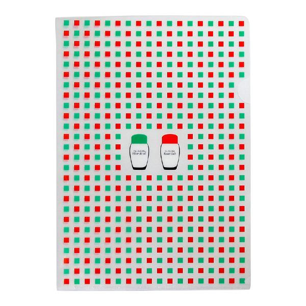 伯方の塩オリジナルクリアファイルA(2枚1組)