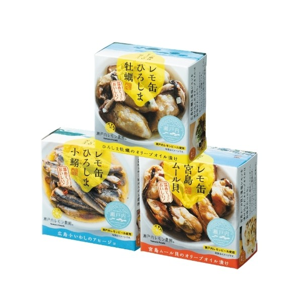 【広島のおいしい魅力がぎゅぎゅっと詰まった】 SHIMAつま缶セット
