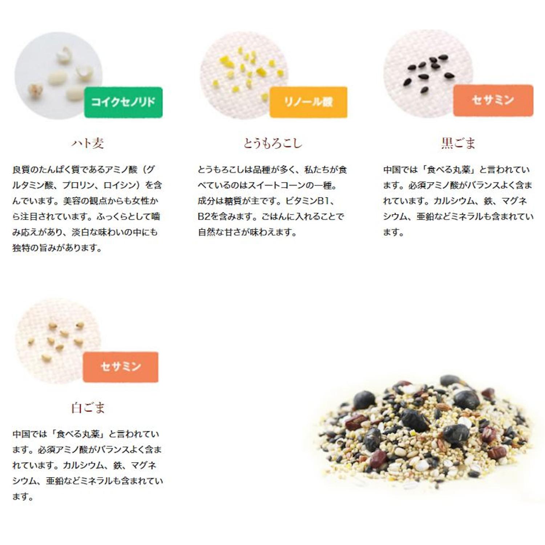 おいしさ味わう十六穀ごはん 180g(30g×6)×6袋