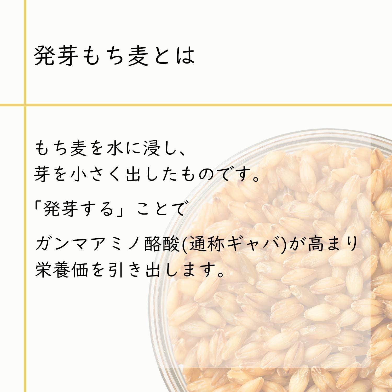国産「発芽もち麦+16穀」×6袋