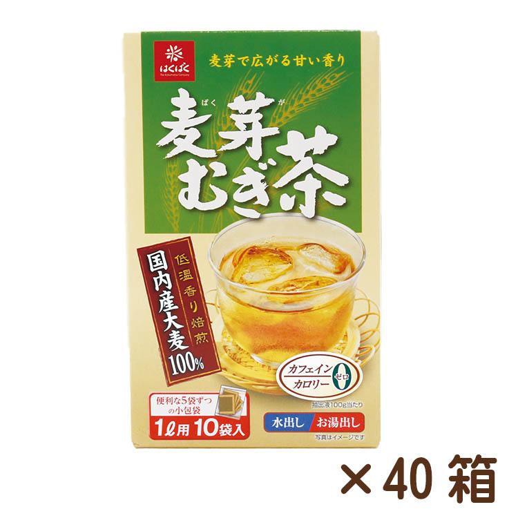 麦芽むぎ茶 10パック(8g)×40箱