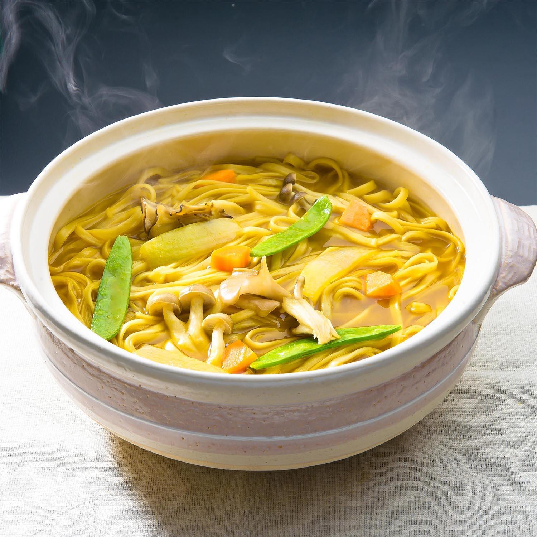 ●あたたか麺セット つゆ付乾麺8袋セット