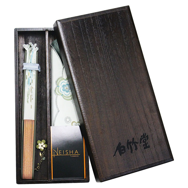 Neisha(ニーシャ) 「ローズヒップ」 扇子セット (全3種類)