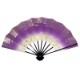 天地雲砂子(てんちくもすなご) 紫 黒塗 九寸五分