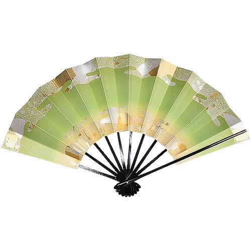 緑雲(りょくうん) 黒塗 九寸五分