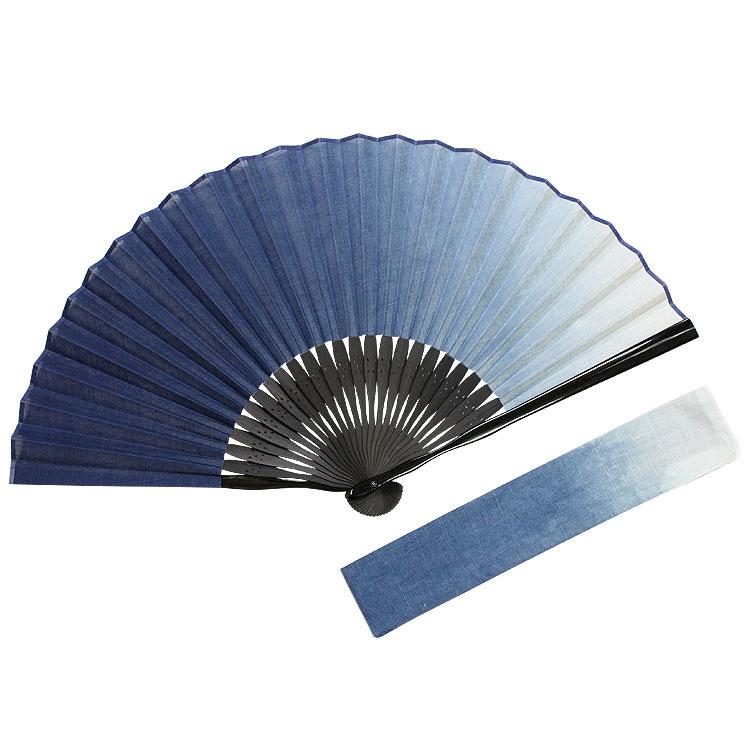 本藍染 扇子セット (全2種類)