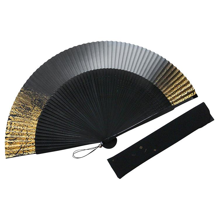 60間純金箔 扇子セット (全2種類)