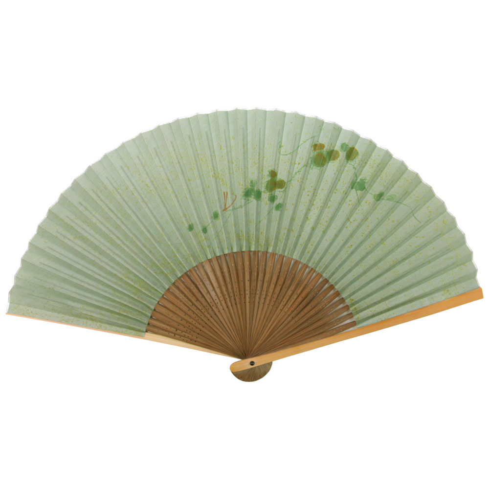 絹張扇子 単品 (全3種類)