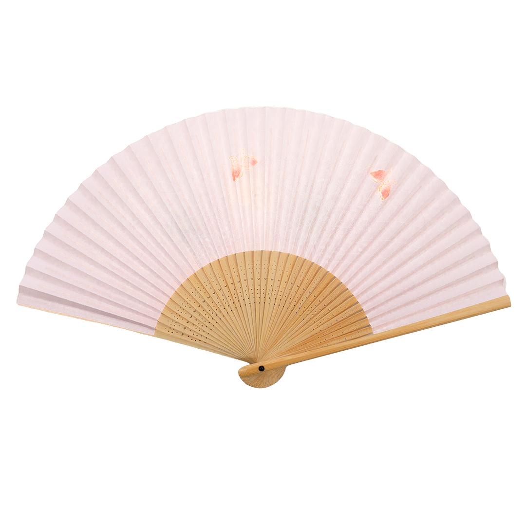 【京扇子】婦人単品扇子 蝶