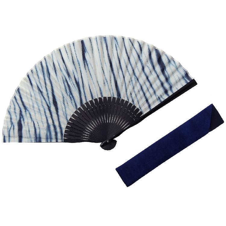 【白竹堂】本藍扇子セット