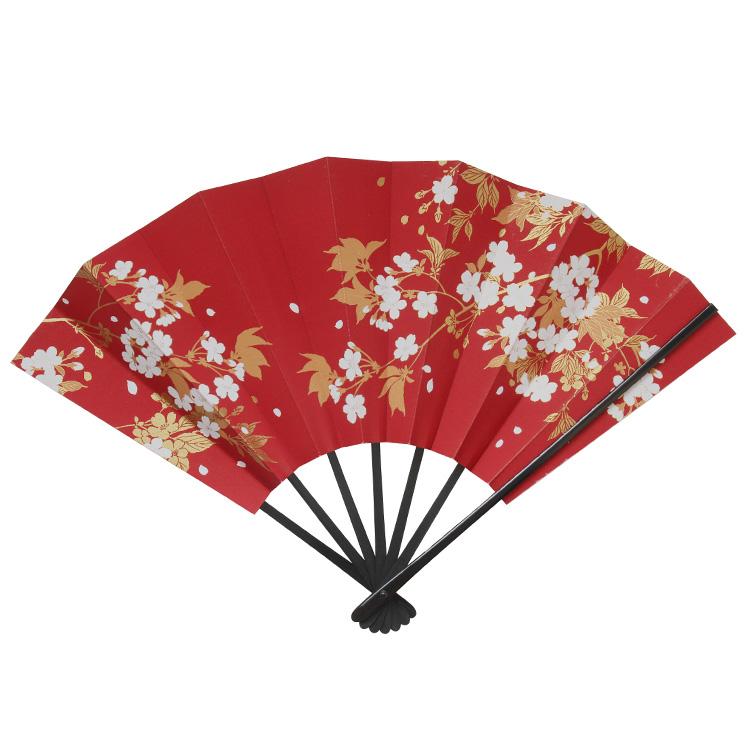 縁起物飾り扇子 「縁桜(えにしざくら)」 九寸