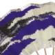 二色雲(にしきぐも)紫  白竹 九寸五分