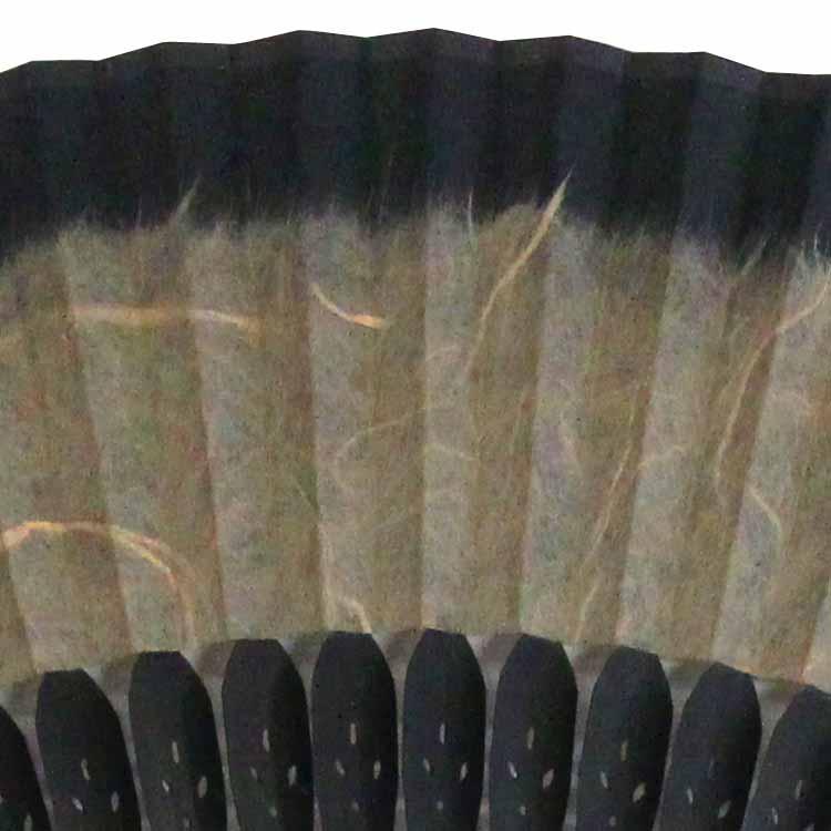 短地黒谷和紙扇子セット (全3種類)