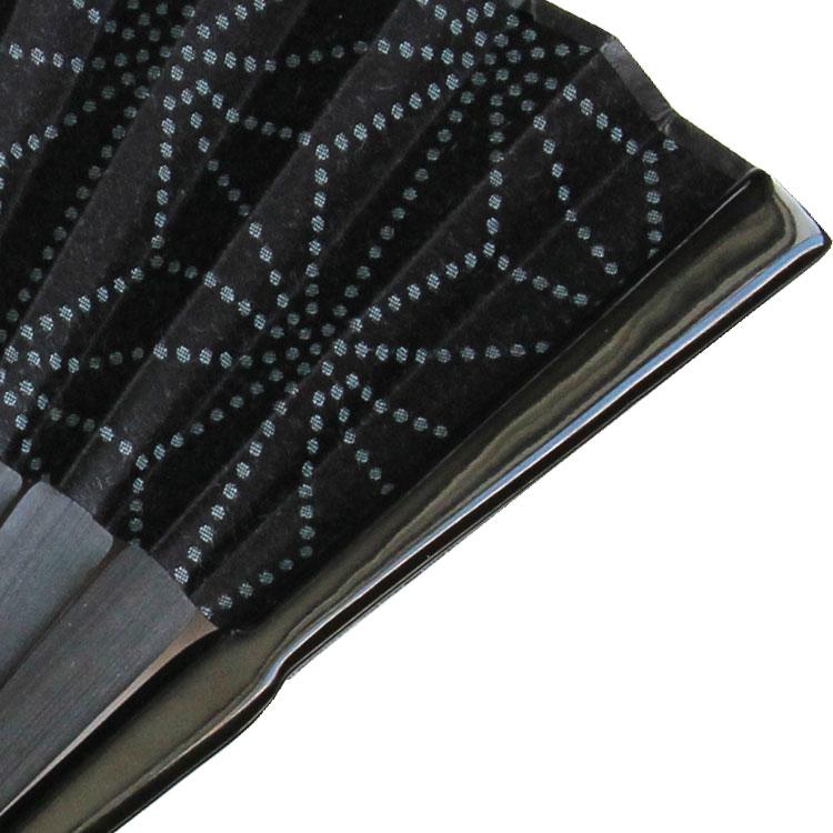 stylish 「紋様スタイリッシュ 麻の葉」 扇子セット (全2種類)