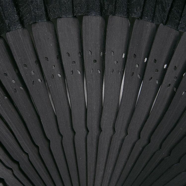黒染 「雅(みやび)」 扇子セット (全3種類)