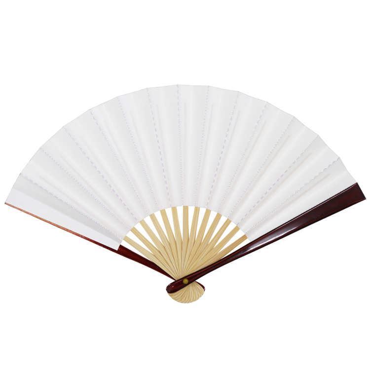 茶道用扇子  「脇彩(わきいろ)茶扇子 七宝」 5寸