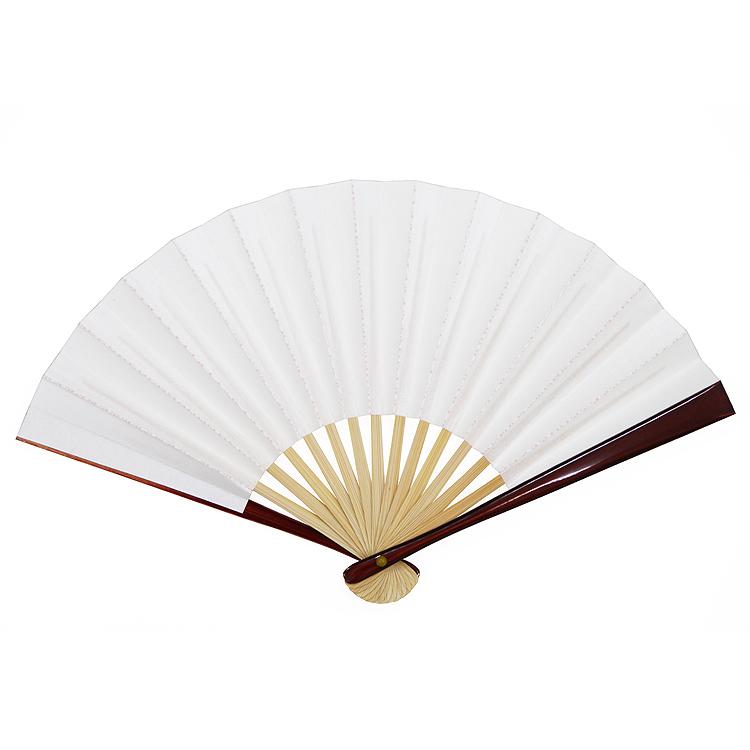 茶道用扇子  「脇彩(わきいろ)茶扇子 梅鉢」 5寸