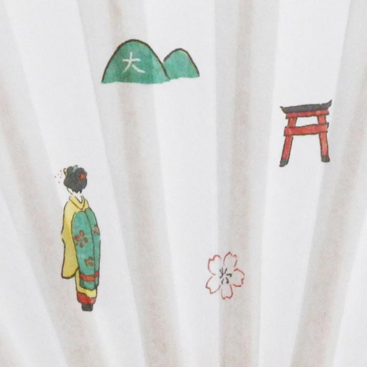 茶道用扇子 お茶扇子 「京都」  5寸