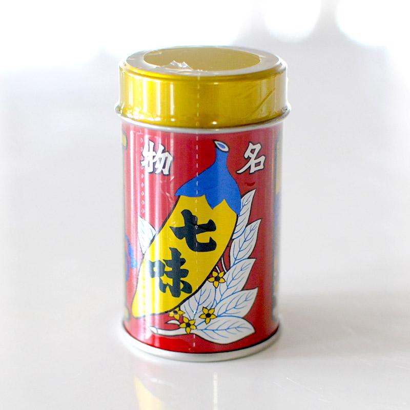 【八幡屋礒五郎】七味唐辛子 缶入り 14g