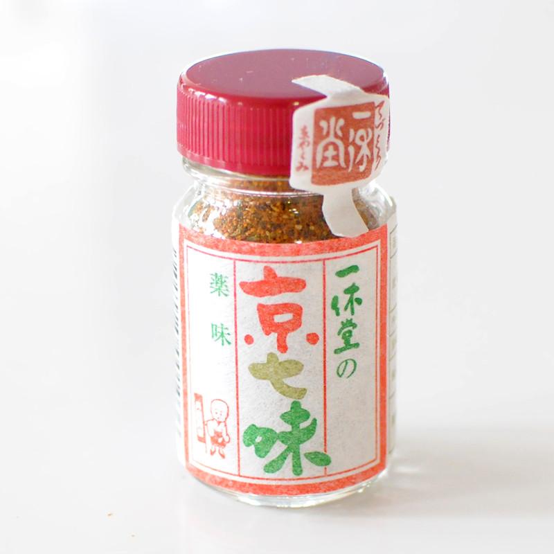 【一休堂】京七味 瓶入り 15g