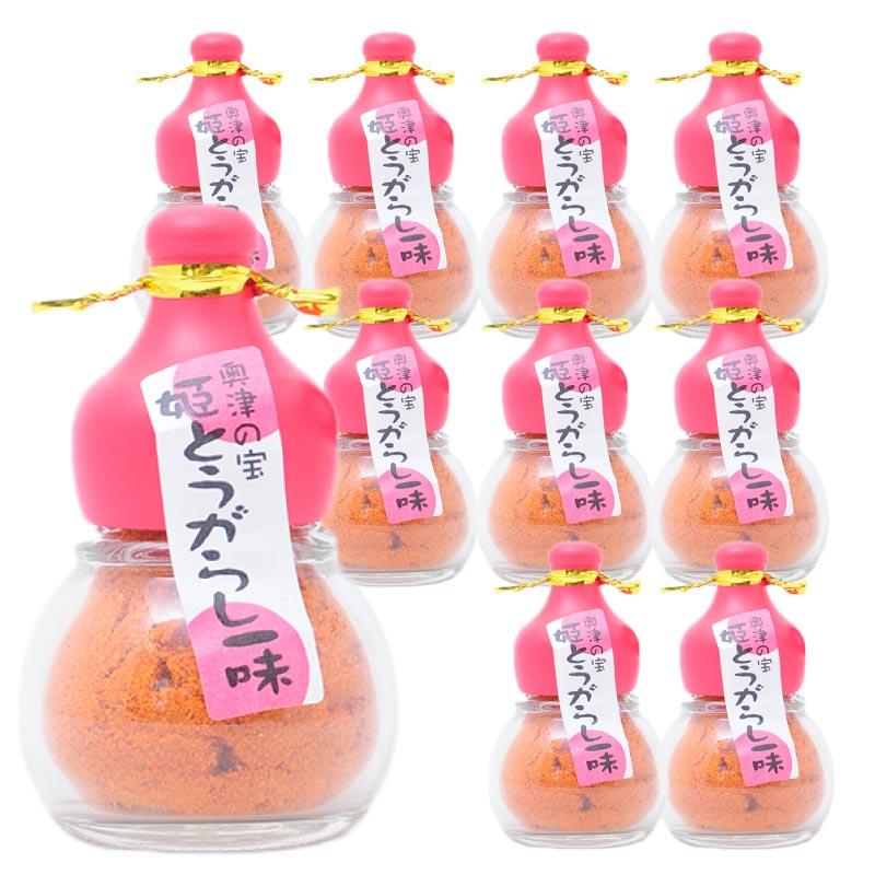 辛美人一味唐辛子12g(瓶入) x 10本