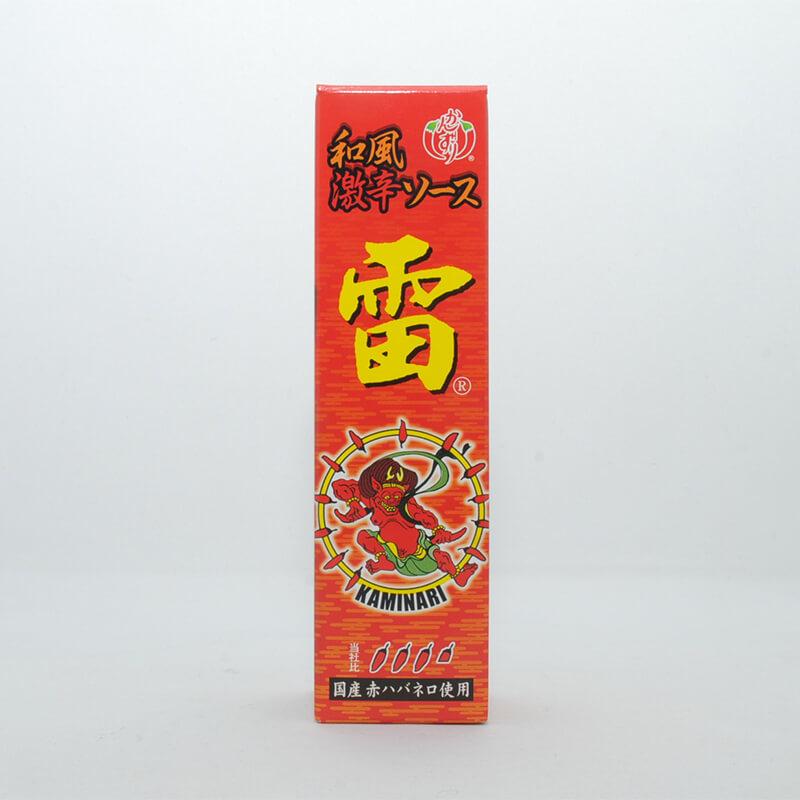 和風激辛ソース 雷(赤/60ml)