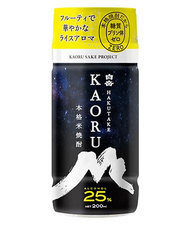 白岳KAORU 25度 200ml