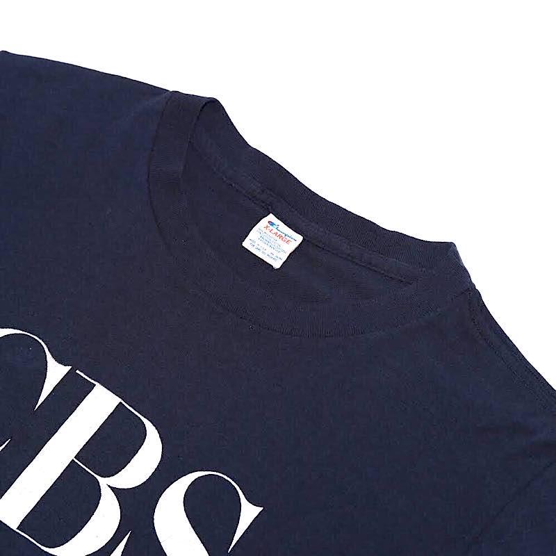 Champion × CBS / 1980's Vintage / T-Shirt