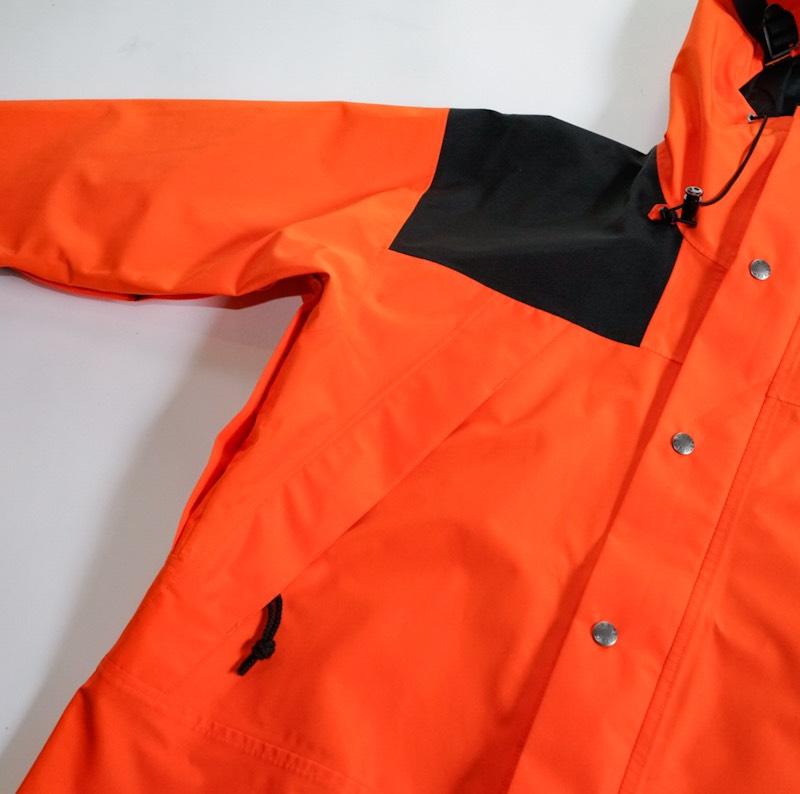 THE NORTH FACE / Deadstock / 1990 Mountain Jacket GTX / Medium / Black×Persian Orange / フラッシャー付き