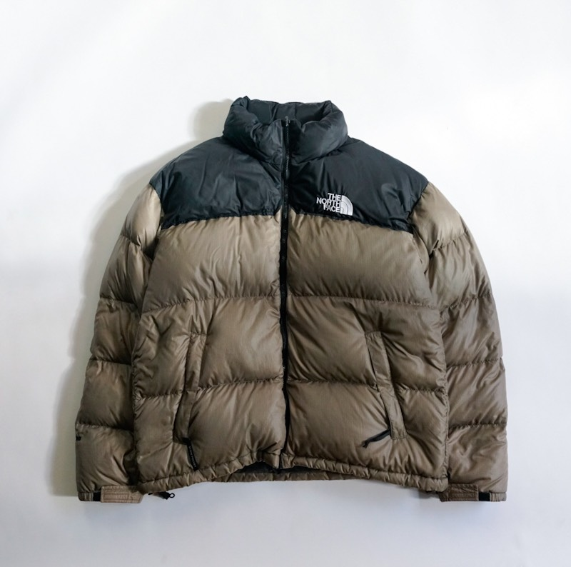 THE NORTH FACE / 1990's Vintage / Nuptse Down Jacket / X-Large / Cinnamon