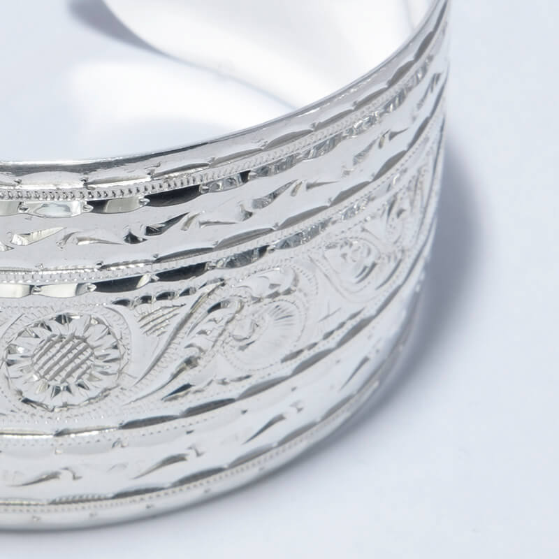 KUBACHI Jewelry / Silver Bangle / 本体価格138,000円