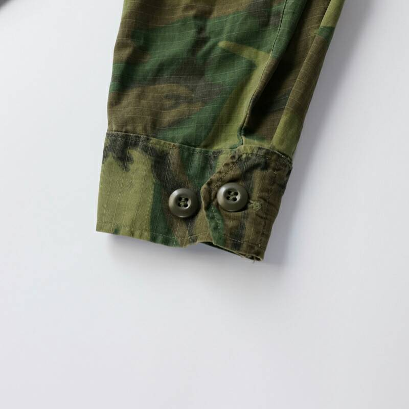 US Military / 1960'sVintage / Rip-Stop ERDL Jungle Fatigue Jacket