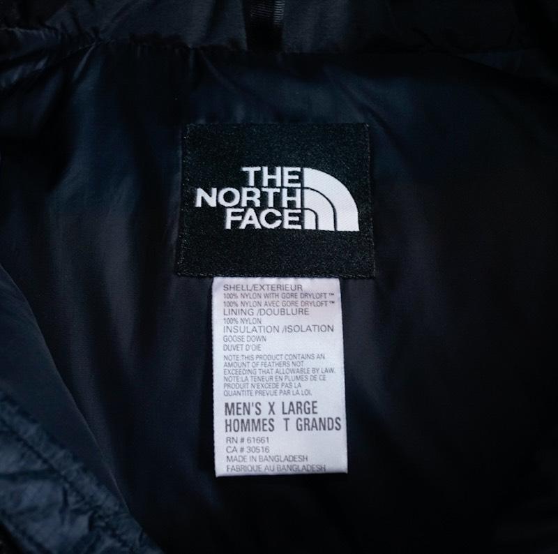 THE NORTH FACE / 1990's Vintage / Nuptse Summit Down Jacket / Large、X-Large