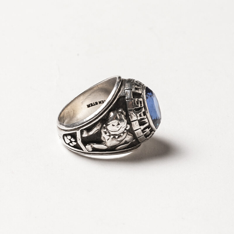 Used / Josten / 1970's Vintage / College Ring / Sterling Silver 925