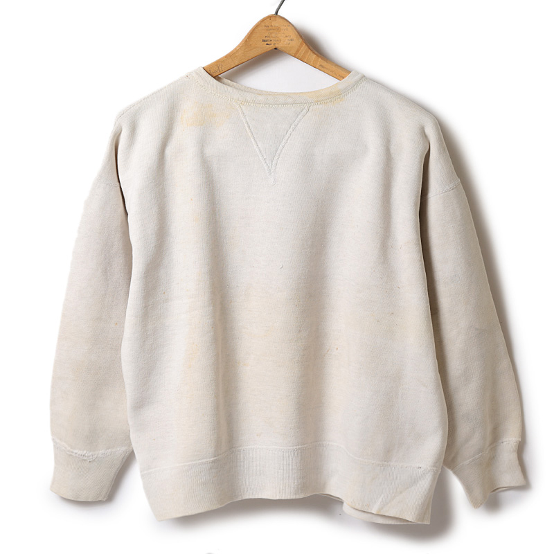 Used / 1950's Crew Neck Sweat / S - M Size