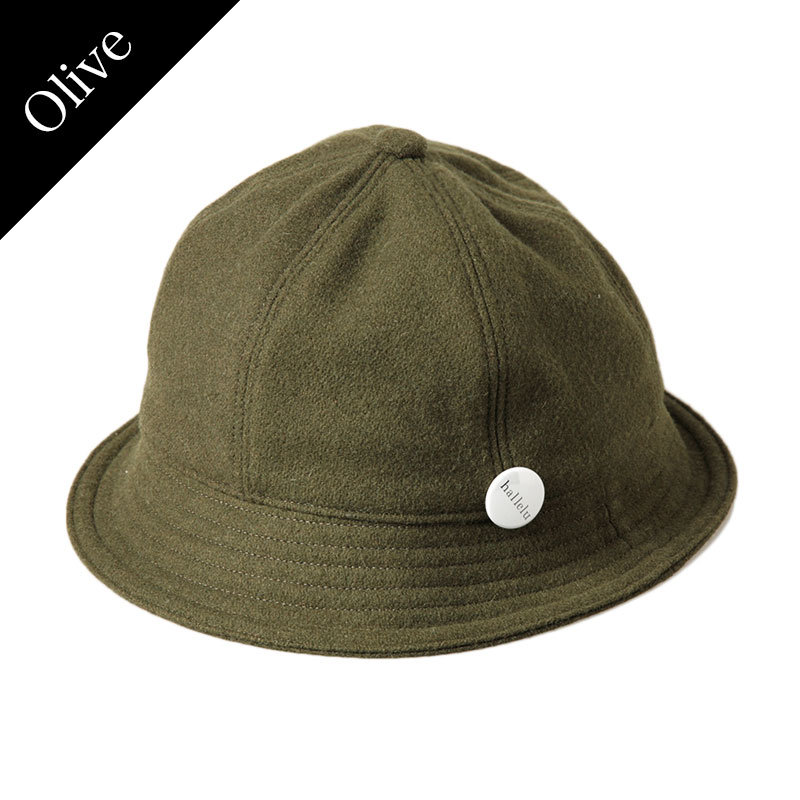 hallelu Products × No.4 / Vintage Wool Bucket Hat
